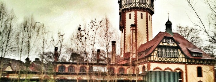 Beelitz-Heilstätten is one of Grün und Blau Berlin.
