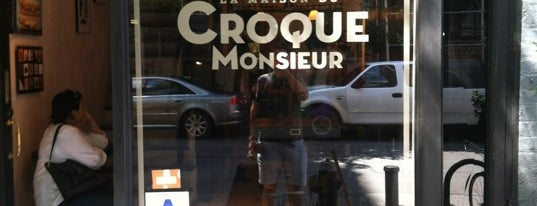 La Maison du Croque Monsieur is one of Best coffee shops for meetings and laptop work.