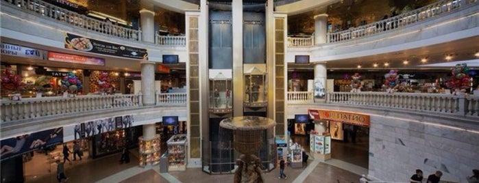 ТЦ «Охотный ряд» is one of TOP-100: Торговые центры Москвы.