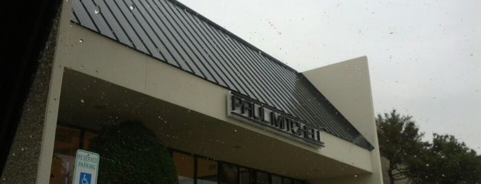 Paul Mitchell The School Dallas is one of Places Jon Must Go.