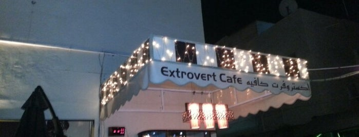 Extrovert Cafe is one of places.