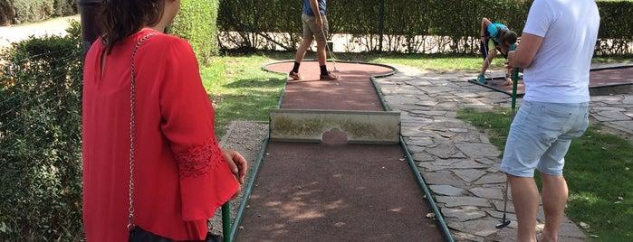 Minigolf La Potinière is one of Guide to De Haan's best spots.