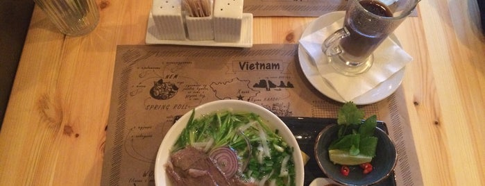 Pho'n'roll cafe is one of Поесть в СПб.