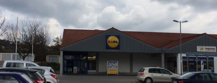 Lidl is one of Einkaufen.