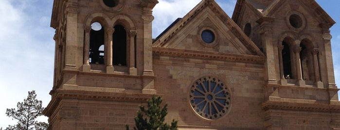 Cathedral Basilica of St Francis of Assisi is one of Santa Fe.