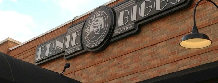 Ernie Biggs Dueling Piano Bar & Grille is one of Top 10 favorites places in Branson, MO.