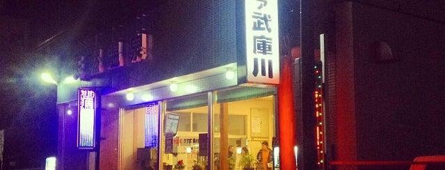 天然温泉 クア武庫川 is one of 銭湯.