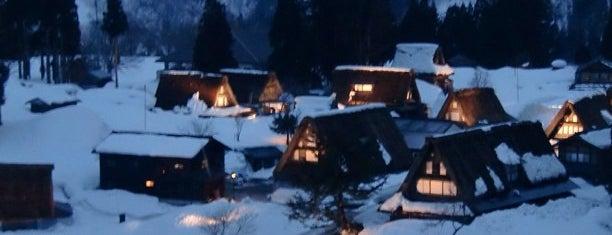 Ainokura Gassho-style Village is one of 北陸.