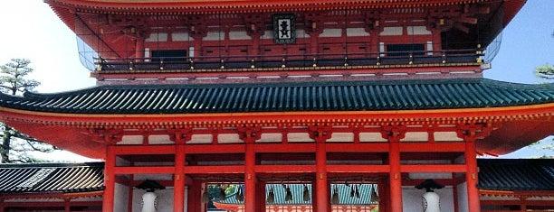 Heian Jingu Shrine is one of KIX.