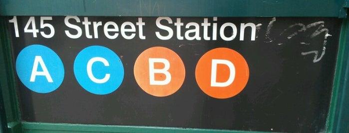 MTA Subway - 145th St (A/B/C/D) is one of Jay-Z's New York.