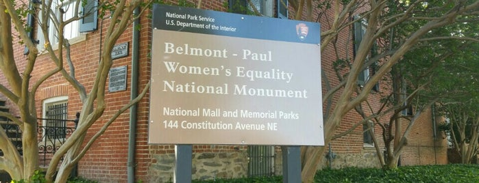 Sewall-Belmont House & Museum is one of DC Area.