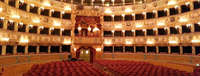 Teatro La Fenice is one of Venezia.