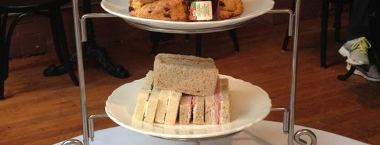 The London Tea Room is one of places to try.