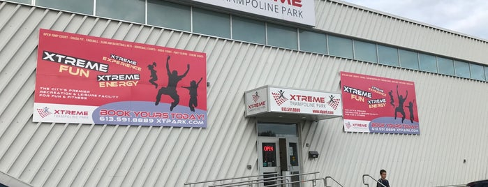 Xtreme Trampoline Park is one of Kanata.