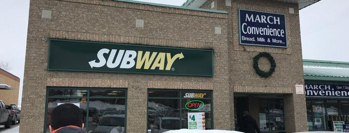 Subway is one of Kanata.