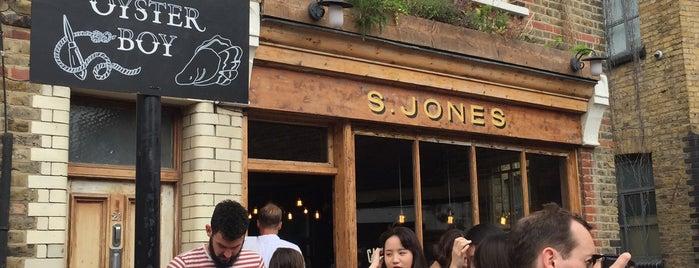 Jones Dairy Cafe is one of Еда лондон.