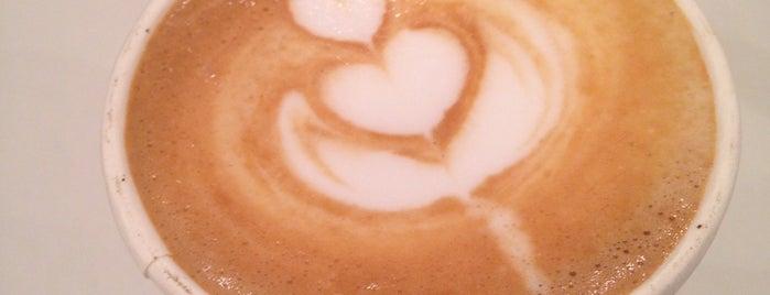 City Coffee is one of Кафе с розетками.