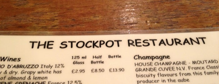 Stockpot is one of Foodies.