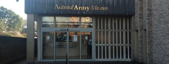 National Army Museum is one of London Museums and Galleries.