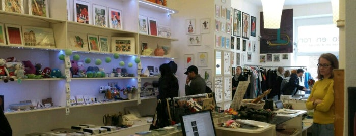 Rododendron Art & Design Shop is one of Must check out.