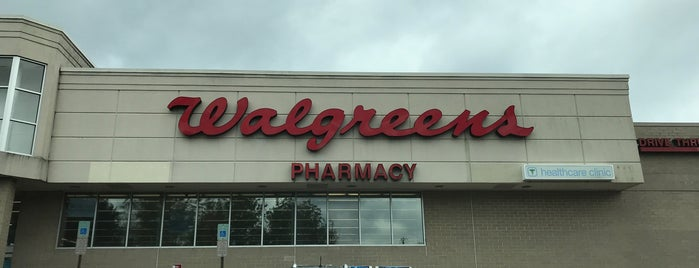 Walgreens is one of places.