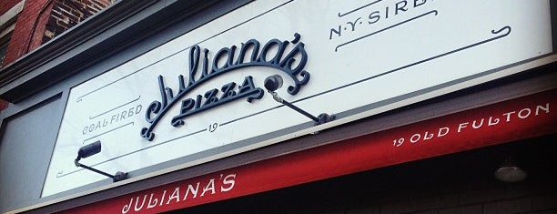Juliana's Pizza is one of The 15 Best Places for a Pizza in Brooklyn.