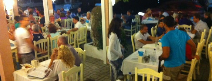 Simi Restaurant is one of Thasos.