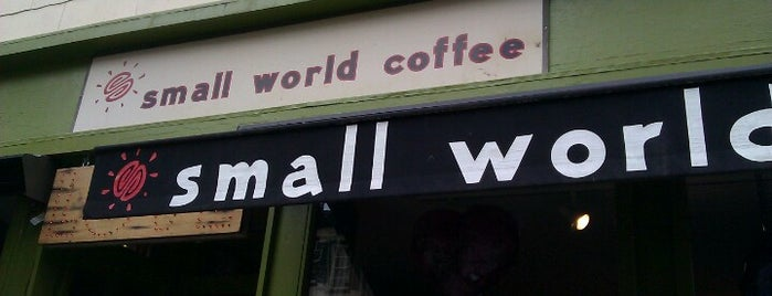 Small World Coffee is one of Coffee to Drink in North America (E).