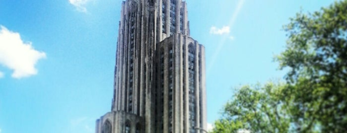 Cathedral of Learning is one of Destination: Pittsburgh.