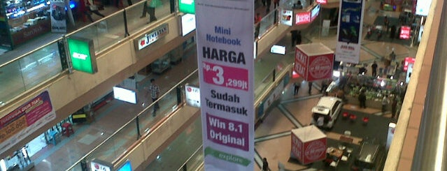 Jakarta Computer Center (JaCC) Mangga Dua Mall is one of Great Jakarta.