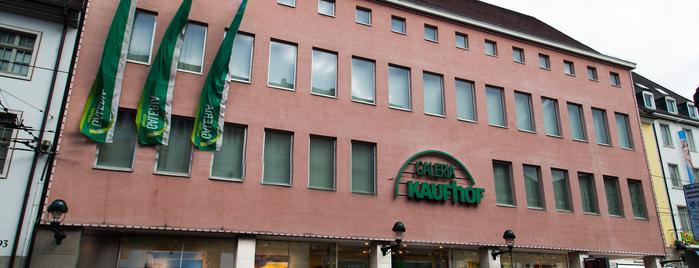 Galeria Kaufhof is one of Freiburg 2018.