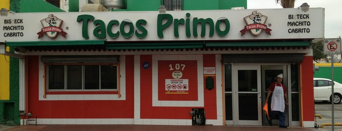 Tacos Primo is one of Restaurants con las 3 b's.