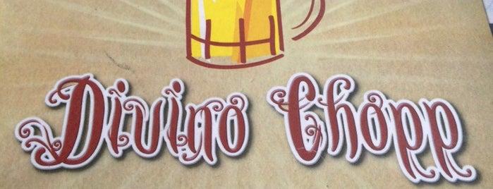 Divino Chopp is one of Preciso visitar - Loja/Bar - Cervejas de Verdade.