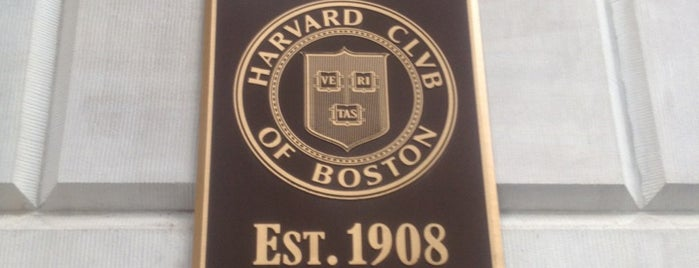 Harvard Club of Boston is one of Venues featured on the Artists Den.