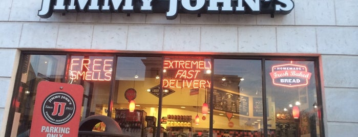 Jimmy John's is one of Favorite Places To Eat.