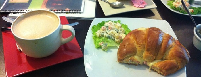 Café Café is one of Coffee Break.