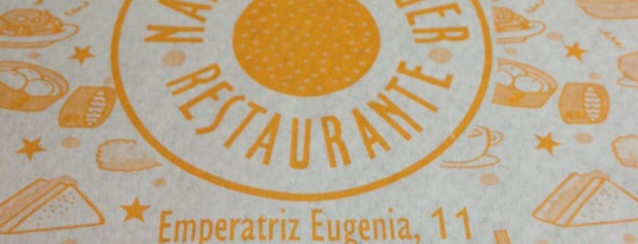 Naranja Burger is one of Restaurantes.