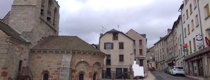 Saint-Alban-sur-Limagnole is one of Les chemins de Compostelle.