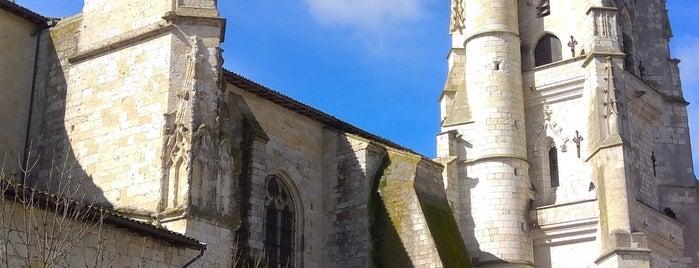 Lectoure is one of Les chemins de Compostelle.