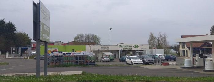 Arzacq-Arraziguet is one of Les chemins de Compostelle.
