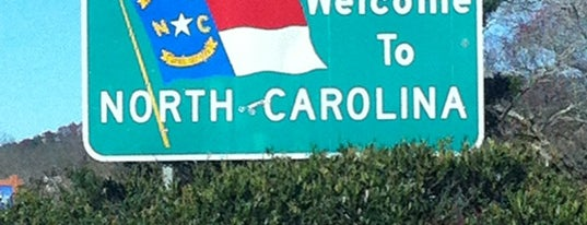 Georgia / North Carolina State Line is one of Favorites.