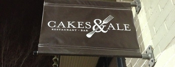 Cakes & Ale Restaurant is one of ATL high-end Hit List.