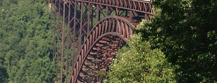 New River Gorge Bridge is one of W.V..