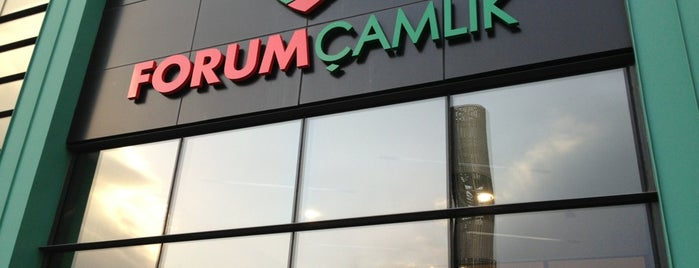 Forum Çamlık is one of ALIŞVERİŞ MERKEZLERİ / Shopping Center.