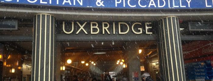 Uxbridge London Underground Station is one of Tube Challenge.
