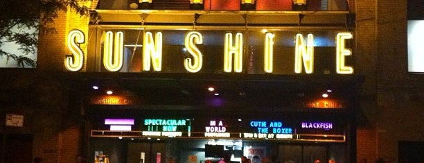 Landmark's Sunshine Cinema is one of GEMS.