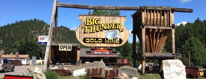 Big Thunder Gold Mine is one of Rapid City, SD.