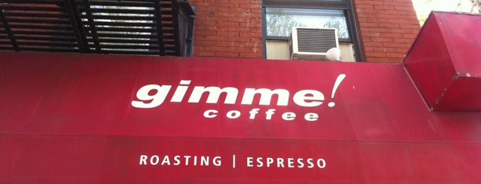Gimme! Coffee is one of coffee nyc.