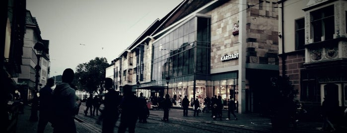 Karstadt is one of Freiburg 2018.
