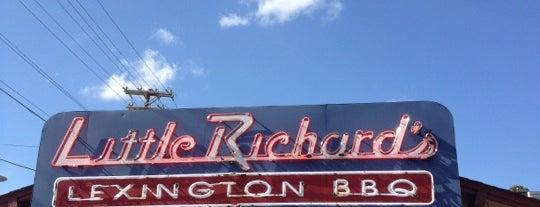 Little Richard's Lexington BBQ is one of Winston Salem's Best.
